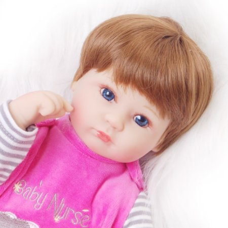 Bebe Reborn Barato, Silicone 42 Cm Pronta Entrega