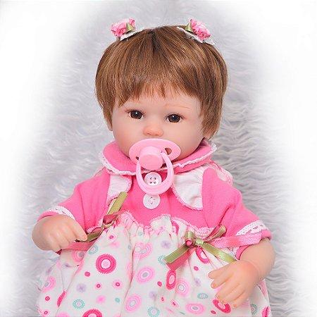 Bebe Reborn Menina 42 Cm, o Melhor Preço