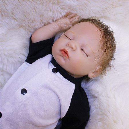 Bebe Reborn Menino Ursinho Panda