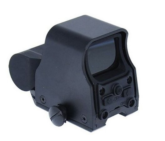 Red dot Armadillo Mod Eotech TT 556 Airsoft 20mm - Grátis Protetor Fairsoft