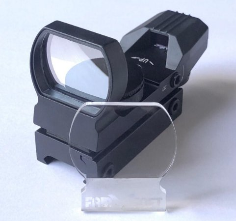 Protetor Red Dot Titan Airsoft Lente 3mm