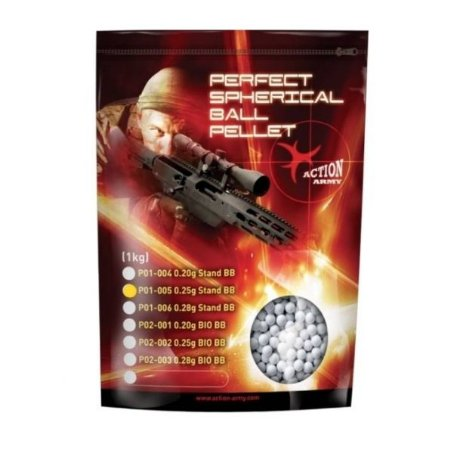 Bbs Action Army 0.25g Standard 1Kg