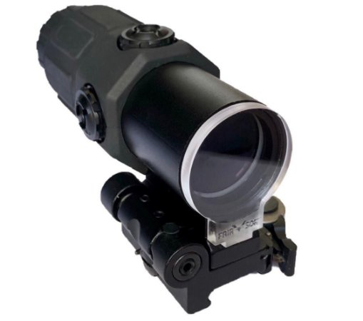 Protetor Magnifer 3x 4x 5x Airsoft Lente 4mm