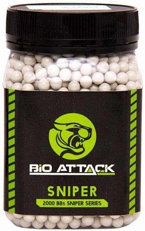 Bbs Airsoft Bio Attack Sniper 0.40g 2000un