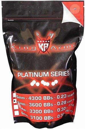 Bbs Airsoft 0.28g King Arms Platinum 1kg