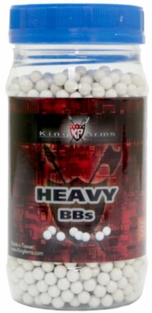 Bbs Airsoft 0.36g King Arms Heavy Series 2000un