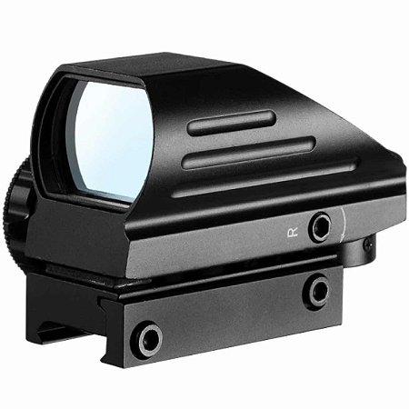 Mira Red Dot Modelo Titan 1x22x33 Airsoft 20mm