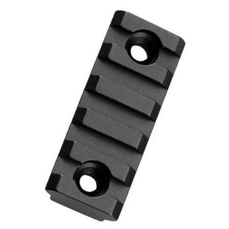 Trilho Picatinny 20mm Keymod 5 Slot