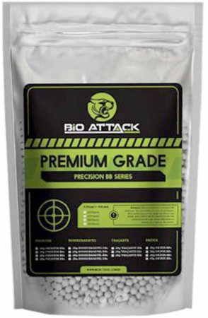 Bbs Airsoft Bio Attack Premium Grade 0.20g