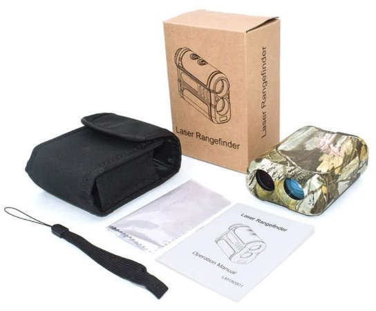 Monóculo Laser Rangefinder Mufasha 600m
