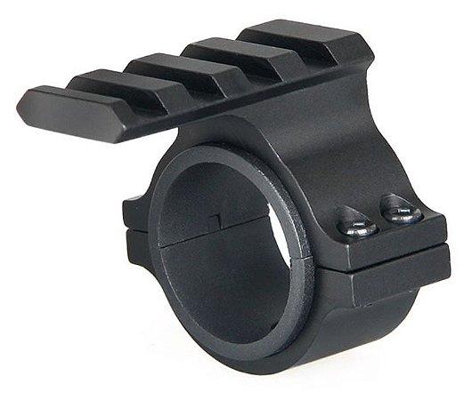 Suporte Elevador Luneta Anel 25/30mm Trilho 20mm
