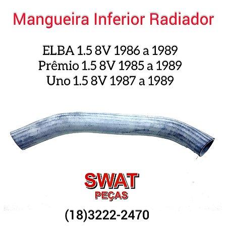 Mangueira inferior do radiador uno/Elba/prêmio