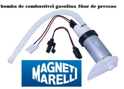 Bomba de Combustível Eletrica universal 3 bar de pressão mm103 uno palio siena strada