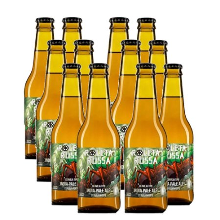 KIT 12 X ROLETA RUSSA IPA 6.2ABV GA 355ML