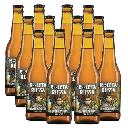 KIT 12 X ROLETA RUSSA - NEW ENGLAND IPA 6.5ABV 355ml