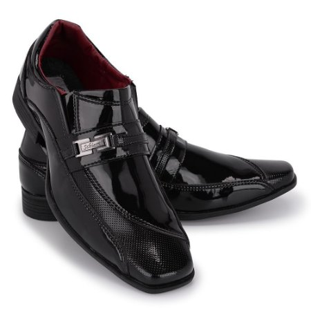 Sapato Social Masculino Em Verniz Schiareli 835