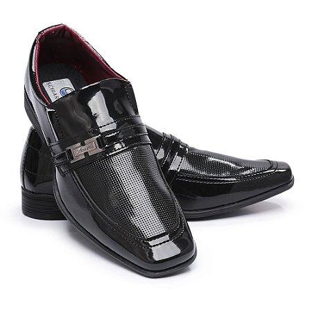 Sapato Social Masculino Em Verniz Schiareli 810