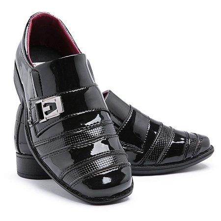 Sapato Social Infantil Masculino Em Verniz Schiareli 443