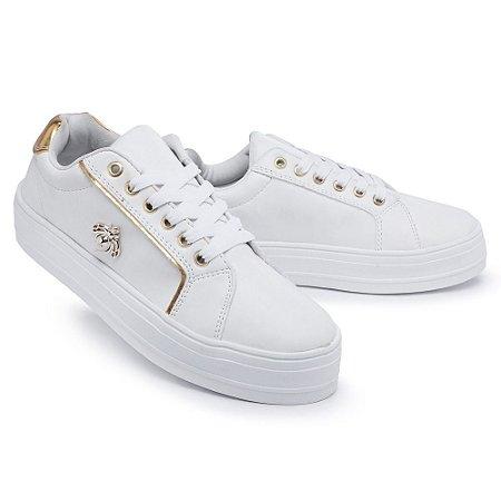 Tênis Casual Feminino Em Sintético Speel Shoes 934