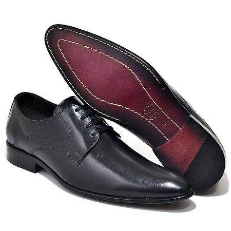 Sapato Social Masculino Em Couro Legitimo Reta Oposta 914