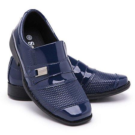 Sapato Social Infantil Masculino Em Verniz Schiareli 444