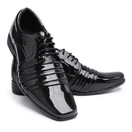 Sapato Social Masculino Em Verniz BR2 1901