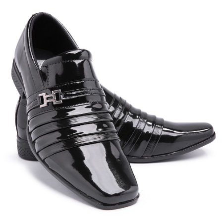 Sapato Social Masculino Em Verniz BR2 1902