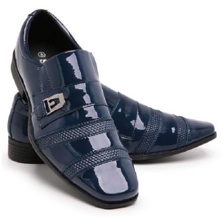 Sapato Social Masculino Em Verniz Schiareli 703