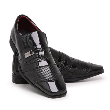 Sapato Social Masculino Em Verniz Schiareli 839