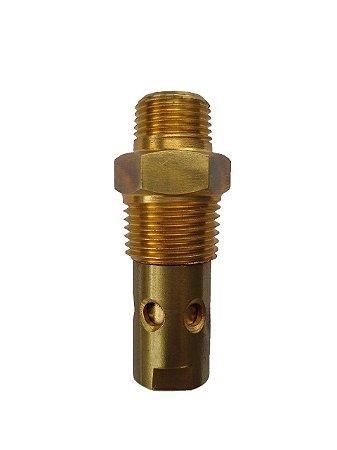 """Válvula De Retenção 1/2"""" x 3/8"""" Sem Saída Lateral Para Compressor De Ar Comprimido 10V ATG 3 Pressure"""