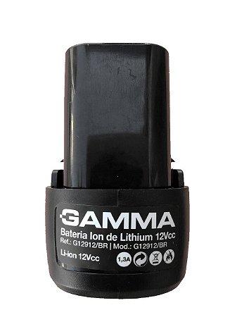 Bateria 12V Para Furadeira Parafusadeira G12101/G12106 BR Gamma