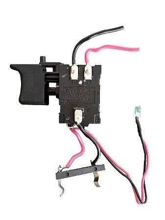 Gatilho Interruptor Para Parafusadeira Furadeira 12V G12101BR / G12106BR Lithium Gamma