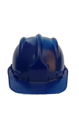 Capacete azul Plastcor PLT