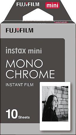 Filme instantâneo Instax Mini Monochrome - Pack com 10 fotos Fujifilm
