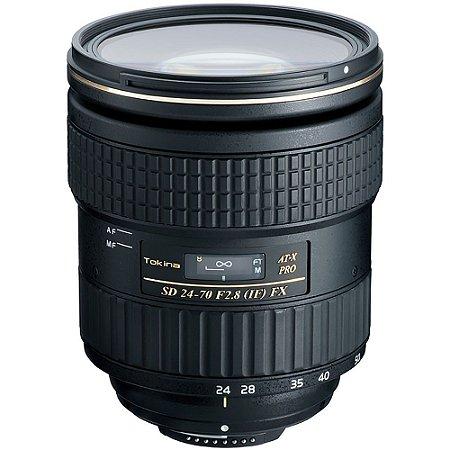 Lente Tokina At-x 24-70mm F2.8 Pro Fx Para Canon