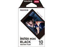 Filme instantâneo Instax Mini Black - Pack com 10 fotos Fujifilm