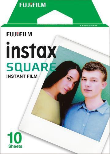 Filme Fujifilm instax Square pack com 10 fotos