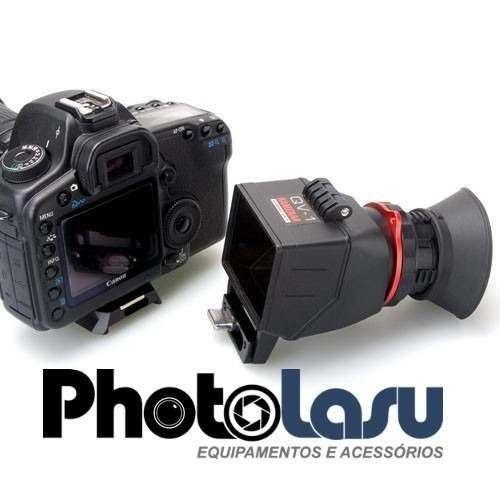 Viewfinder Kamerar Qv1 3 -3.2 2.5x Zoom Dslr Filmagem Pro