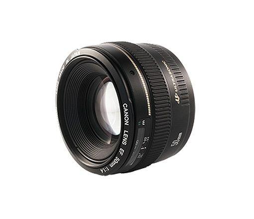 Lente Intercambiável EF 50mm F1.4 USM  - Canon