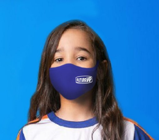 Máscara Tamanho Infantil - Tamanho Adulto