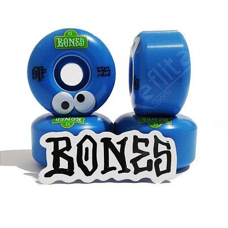 Roda Bones Stf Googly Blues 55mm 103a Formula V4