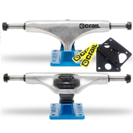 Truck Crail Solid Logo Blue / Silver 129mm / 146mm