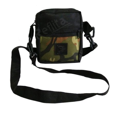 Shoulder Bag Cisco Skate Black / Camuflada