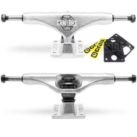 Truck Crail Mid Crailers Silver  129mm / 139mm