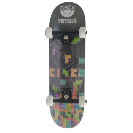 Skate Infantil Cisco Brasão Tetris