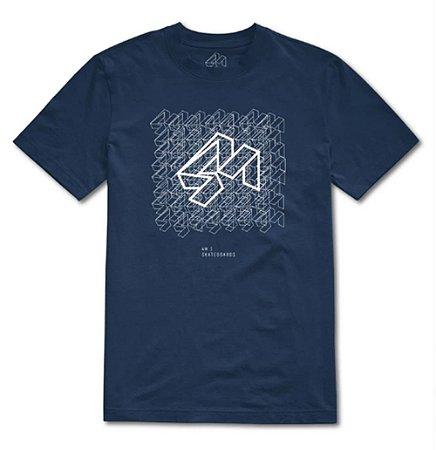 Camiseta 4M Azul
