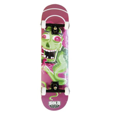 Skate Iniciante Solo Monster Purple
