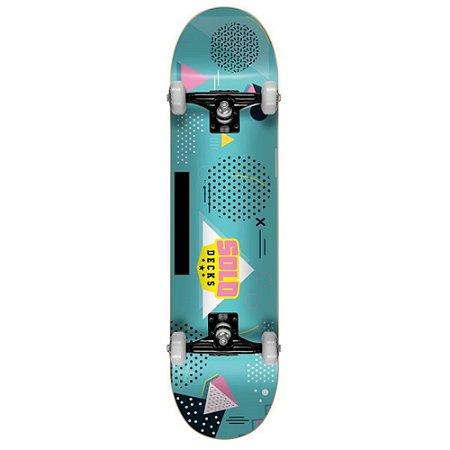 Skate Iniciante Solo Decks Blue