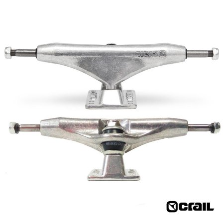 Truck Crail Old School 160mm Classic Logo Silver