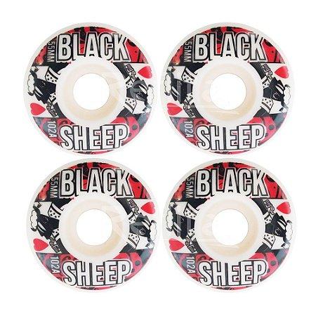 Roda Black Sheep Importada 55mm 102A